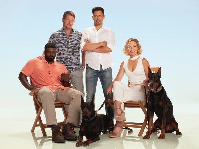 Magnum P.I. Cast Photo